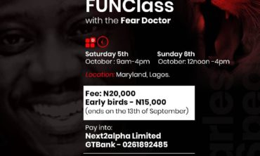 The Fearless Public Speaker FunClass with The Fear Doctor