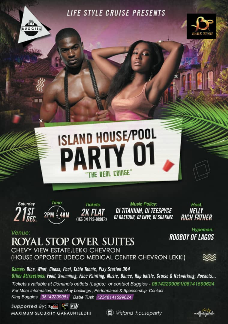 THE ISLAND HOUSE / POOL PARTY